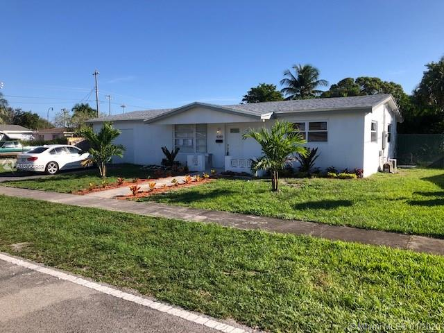 Beautifully updated 3/2 single family home in lauderdale lakes.Property is completely renewed ,new roof,new floors,new storm proof windows,new kitchen,new baths ,Large backyard with pool and plenty of yard space sitting on the corner.Property is much larger than tax rolle shows ,all updates are done to code per seller.