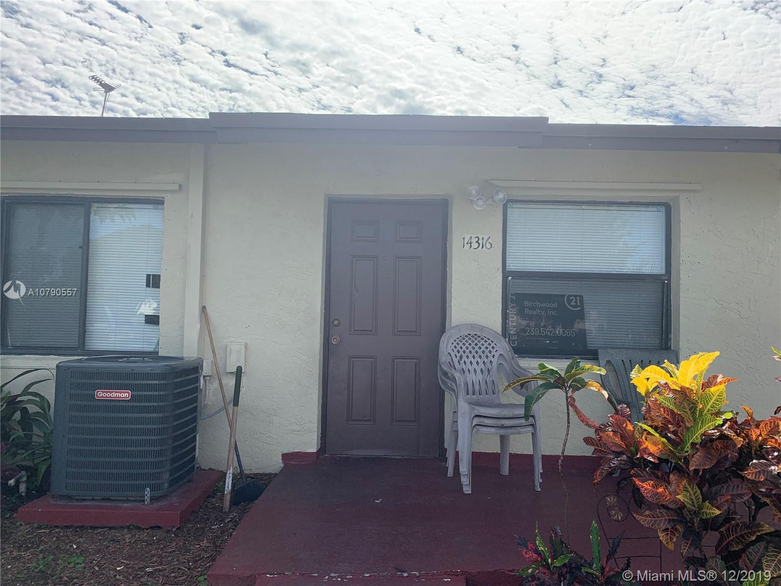 14316 SW 283rd St  For Sale A10790557, FL