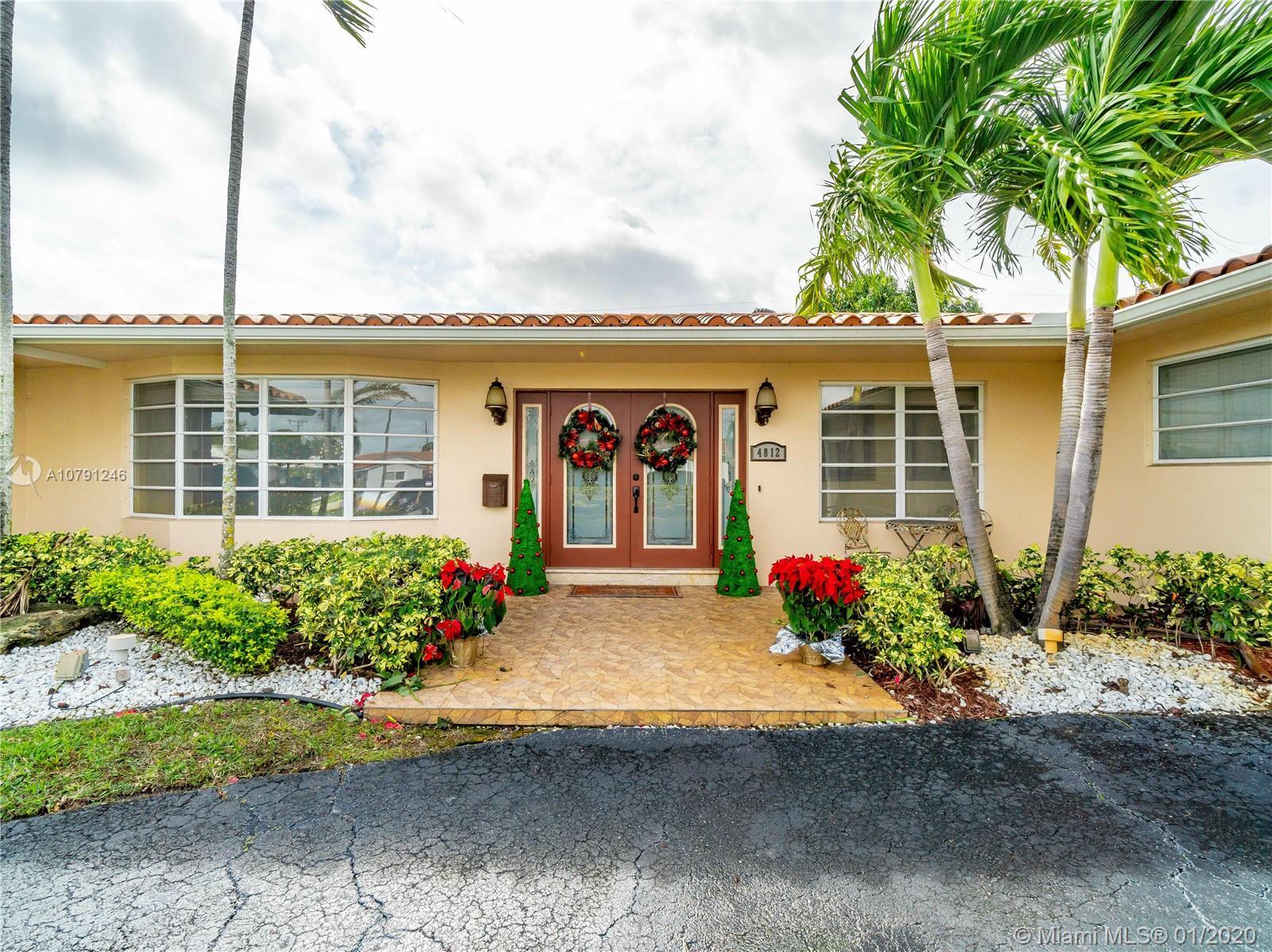 4812  Van Buren St  For Sale A10791246, FL