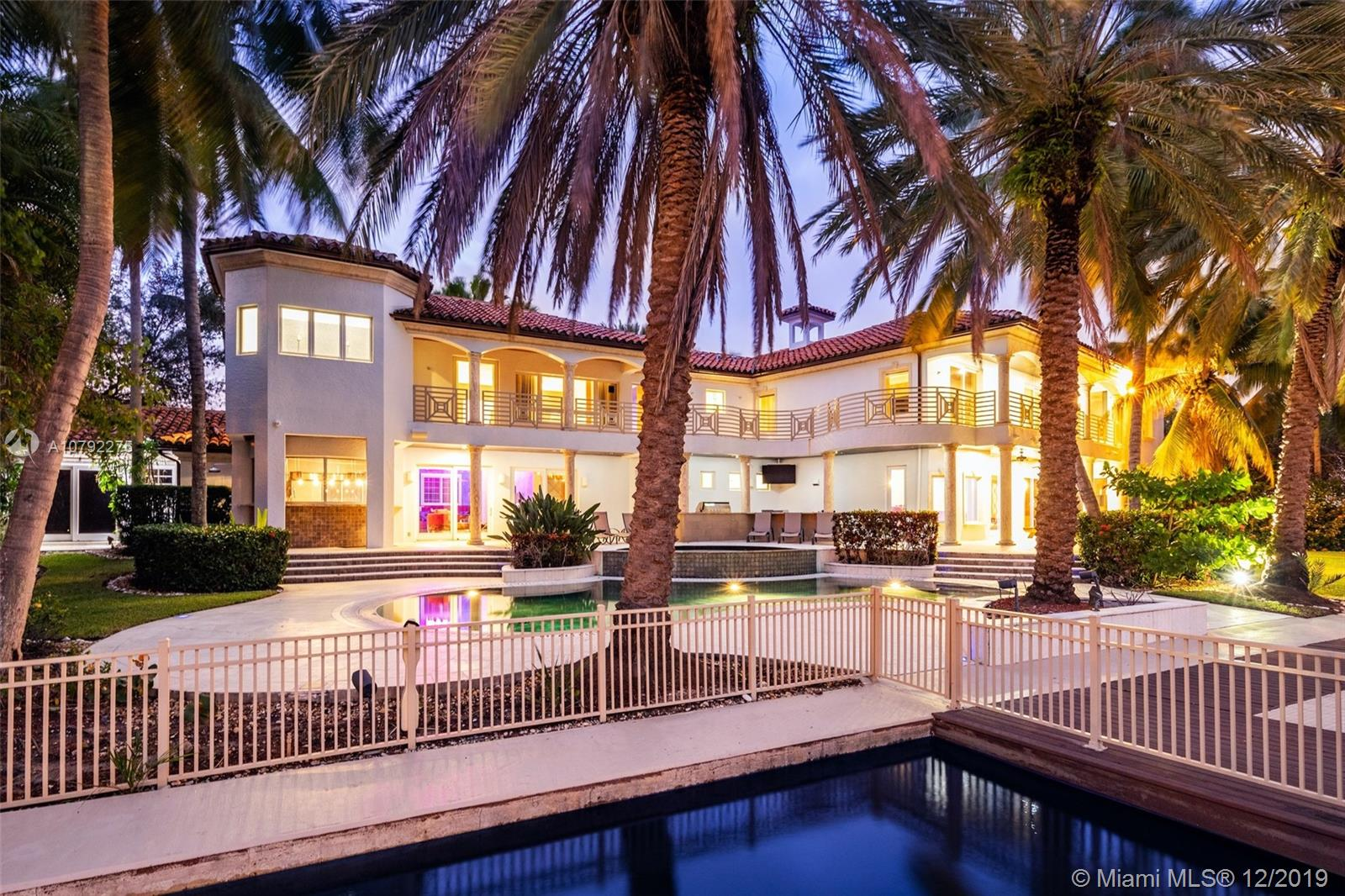 Stunning entertainers paradise boasting 154 feet of deep water frontage on a 19,500 Sq Ft lot. 2 master bedrooms suites and 3 ensuite bedrooms. High ceilings, high impact glass throughout, new 80KW generator, hair salon. Private entertainment wing with game lounge, outdoor kitchen encompassing spacious backyard and pool. 1,600 sq ft featuring unique car display. Minutes to Las Olas, the beach, airport, and major highways.