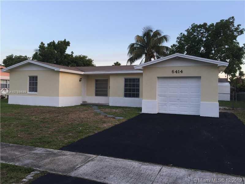 6414 Braeburn, North Lauderdale, FL 33068