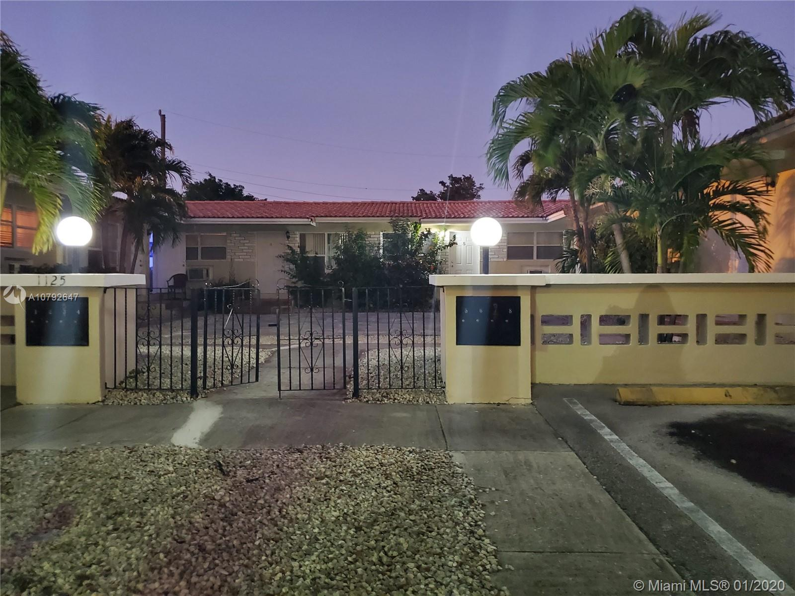 1125 NE 80th St #2 For Sale A10792647, FL