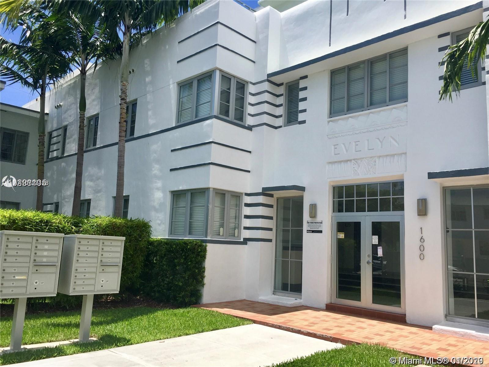 1600  Euclid Ave #103 For Sale A10793123, FL