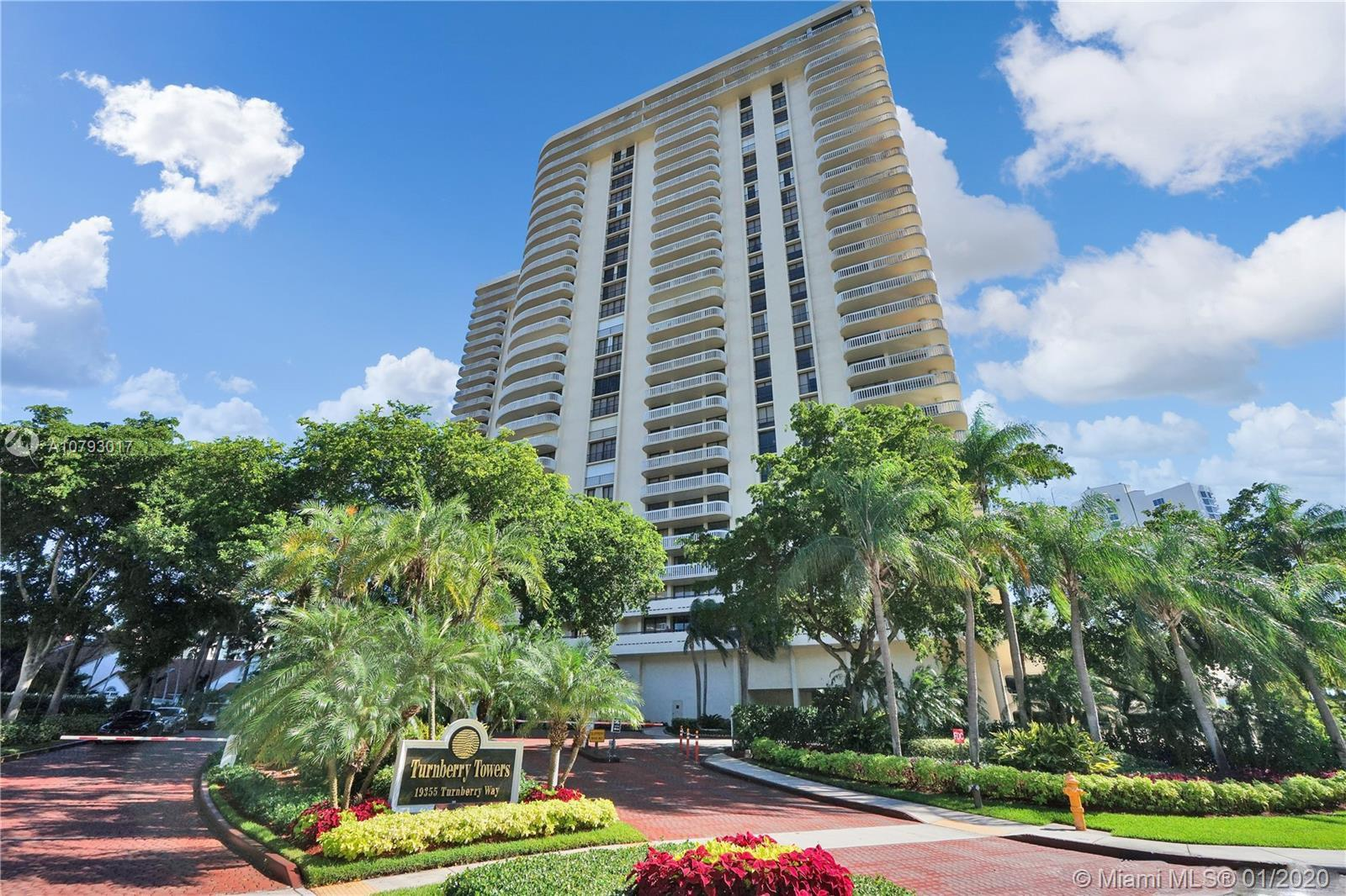 19355  Turnberry Way #4C For Sale A10793017, FL