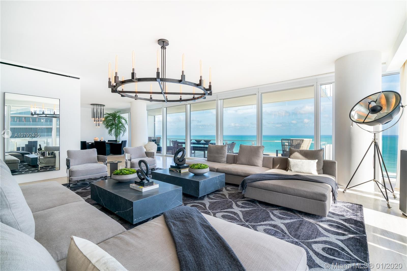 9001  Collins Ave #S-801 For Sale A10792405, FL