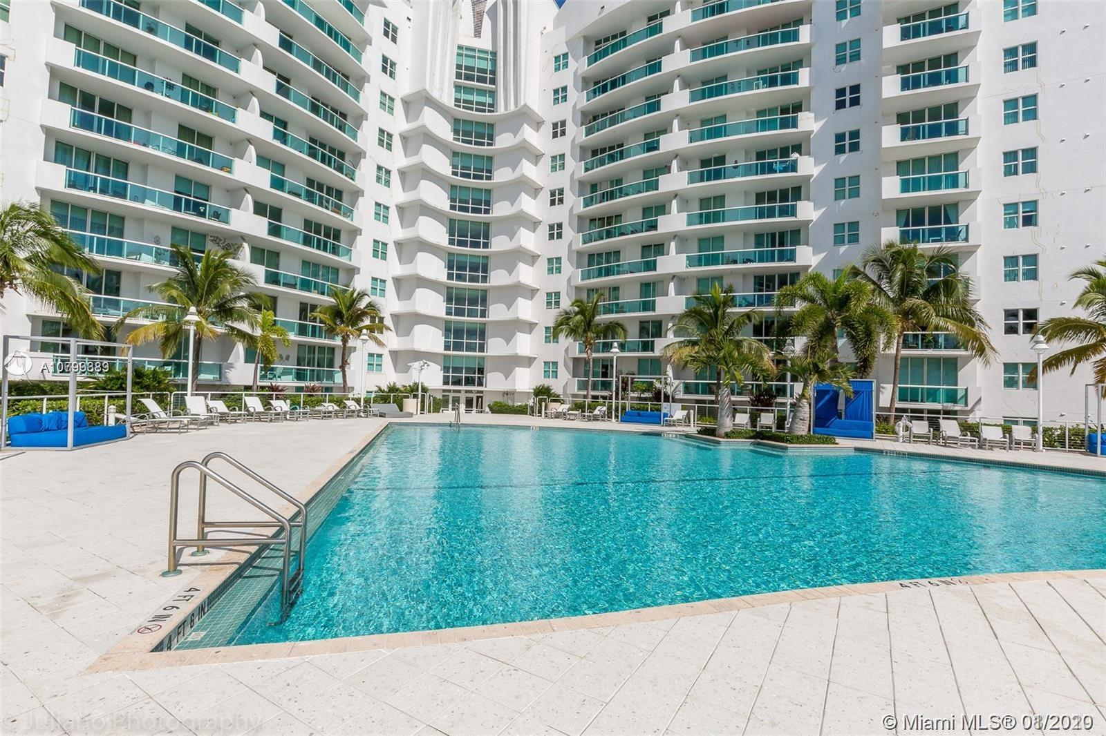 GREAT OPPORTUNITY!!!!!!!!! SALE PRICE THAT WON'T LASTLUXURY WATER FRONT UNIT 2 BED / 2 BATH IN NORTH BAY VILLAGE. MODERN KITCHEN WITH GRANITE COUNTER TOP AND STAINLESS STEEL APPLIANCES. ROMAN TUB IN MASTER BATH ROOM. LARGE BALCONY AND BREATHTAKING VIEWS FROM EVERY ROOM IN UNIT. THIS COMMUNITY OFFERS AMAZING AMENITIES INCLUDING GYM, SAUNA, 2 POOLS, CLUB HOUSE, 24 HRS GATED SECURITY WITH VALET, LOTS OF GUEST PARKING AND A PRIVATE MARINA.