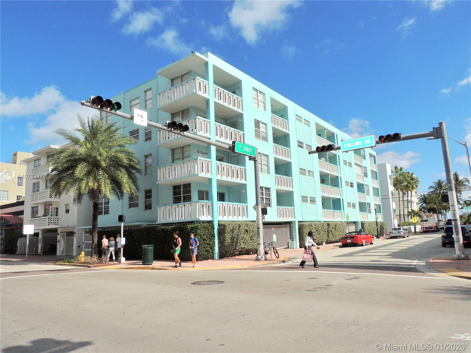 701  Collins Ave #1B For Sale A10793776, FL