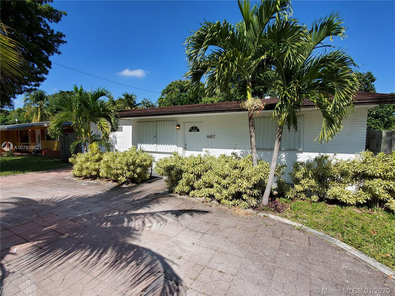 6417 SW 20th Ct  For Sale A10793962, FL