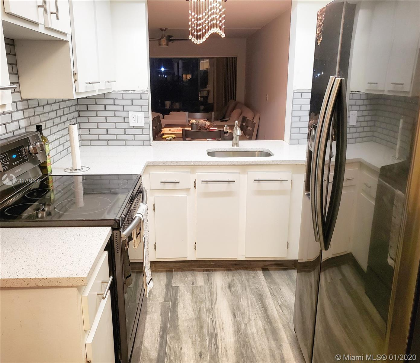 Spacious, renovated 2/2 condo, very conveniently located 3 min to I95, 5 min to Sawgrass Expressway and Turnpike.New tile floors throughout,  Stainless steel appliances, washer and dryer in unit, lots of storage space Great amenities, pool, hot tub, BBQ grills etc. Water, sewer, basic cable included on Hoa fee. Association requires 675+ credit score. No pets, no motorcycle, no trucks allowed