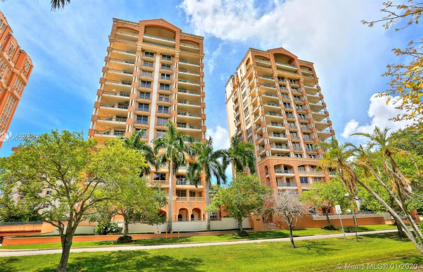 626  Coral Way #601 For Sale A10794137, FL
