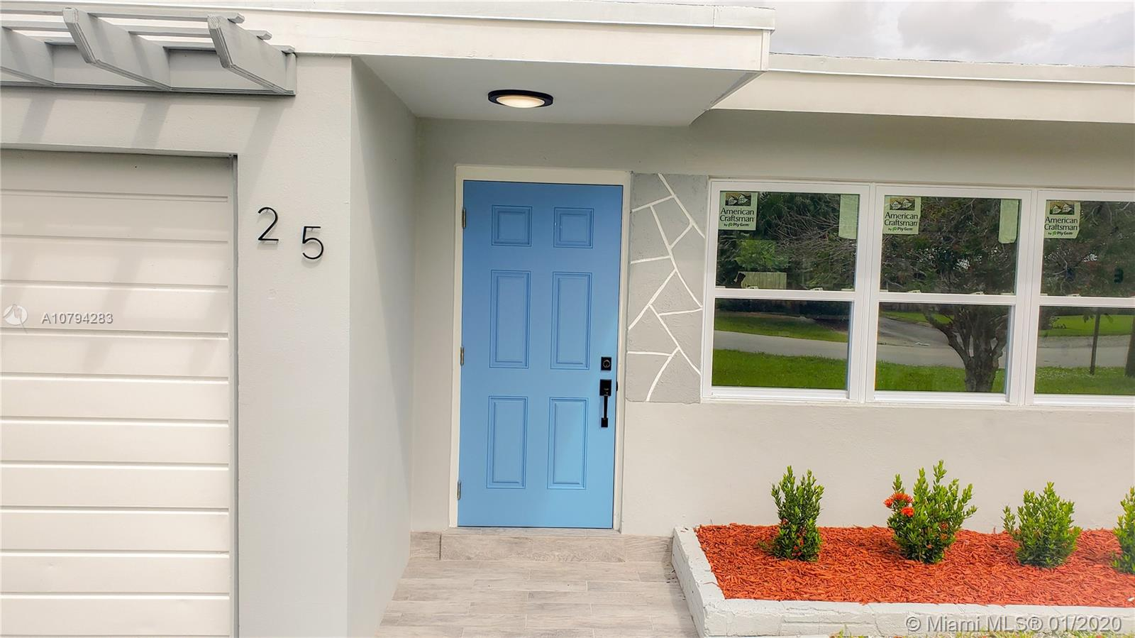 Beautifully renovated home at Wilton Manors, one of the most desirable municipalities in South Florida. This gem features 3 bedrooms and two bathrooms with two car garage and ocean access canal. Open floor plan with an amazing custom made and modern U shape design kitchen with two tones cabinets and quartz counter-tops plus brand new stainless steel appliances. Brand new roof, new impact rated windows and doors, new HVAC, new 100% waterproof LVP floors, laundry room equipped with brand new washer and dryer, new water heater. This beauty is seating in huge corner lot with room for a boat and room for a pool in the backyard. This is a unique opportunity to own a paradise minutes from the beach and enjoy Florida.