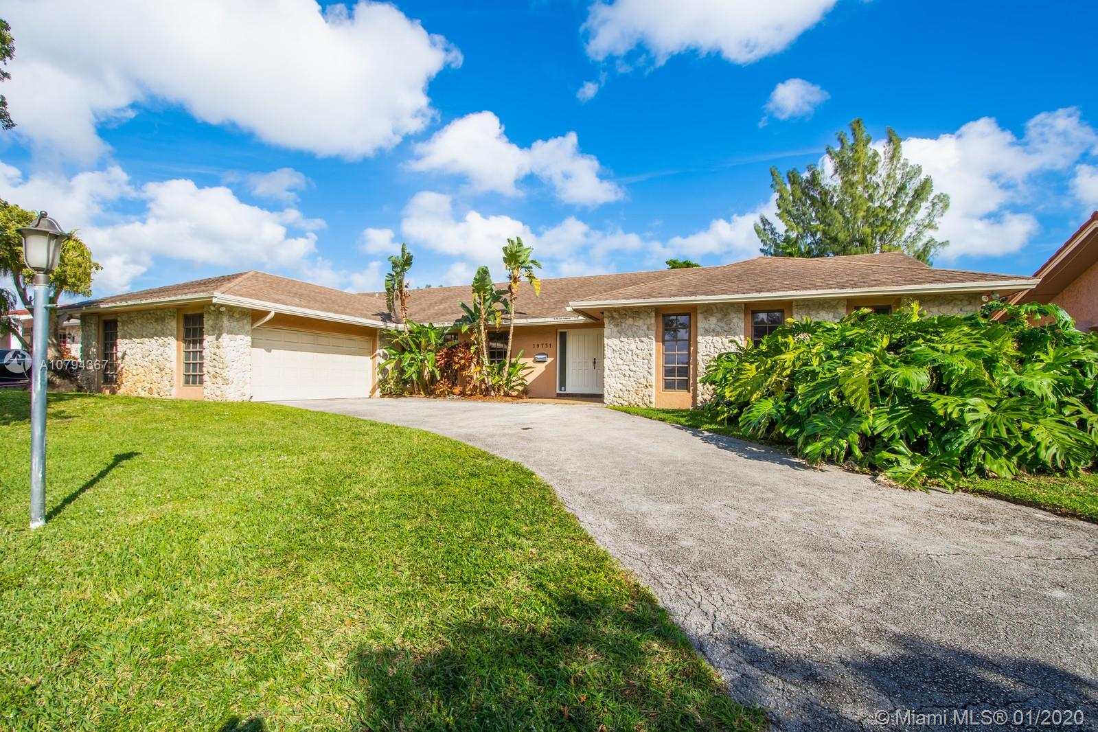 19731 NE 22nd Ave  For Sale A10794367, FL