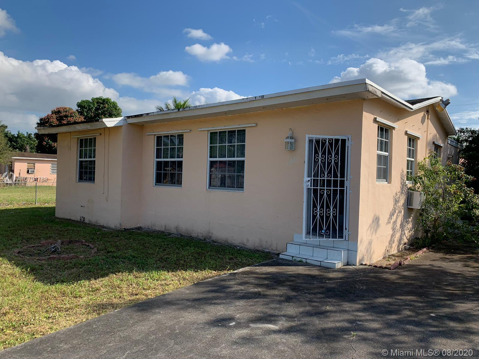1166 NW 115th St  For Sale A10794783, FL
