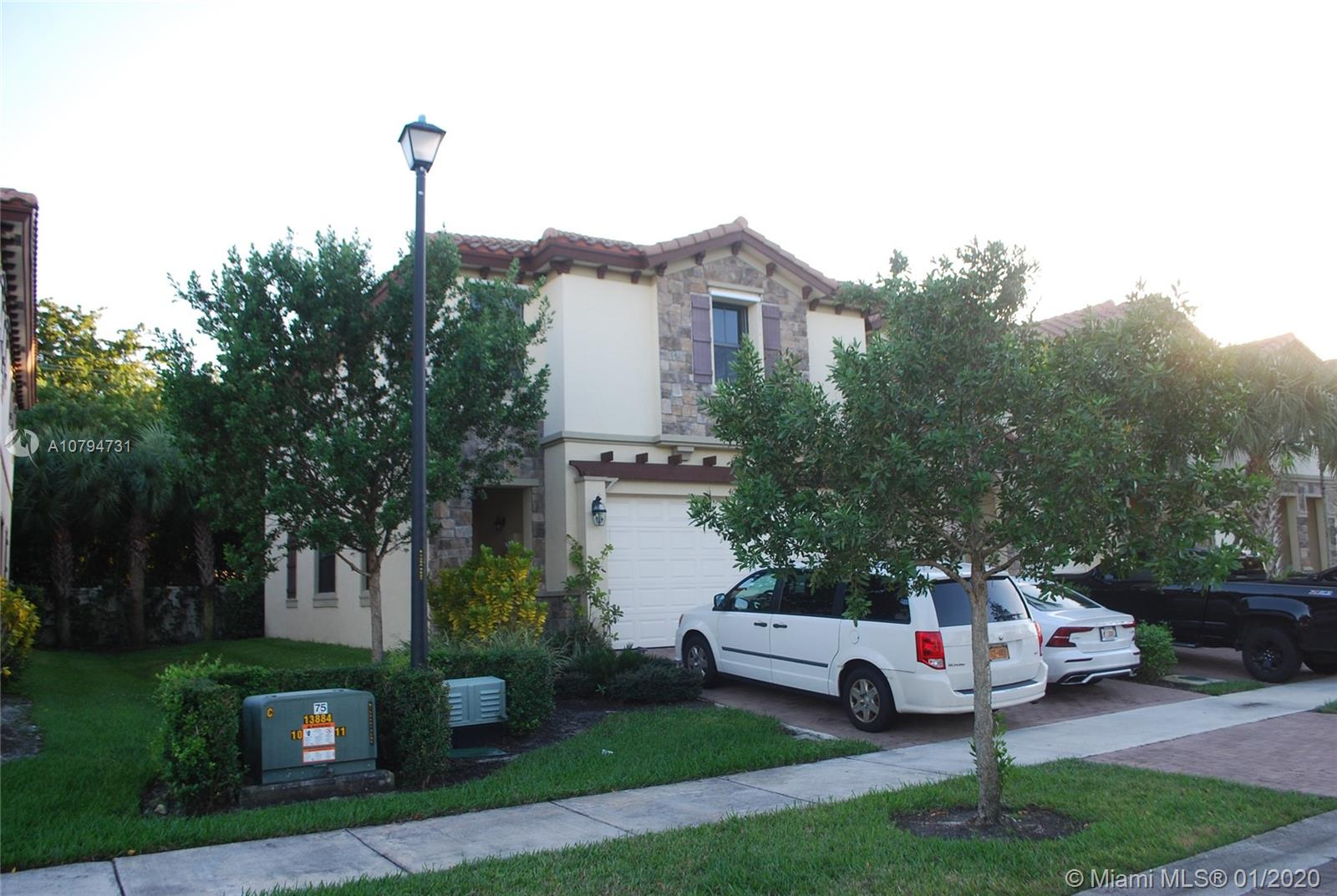 VERY RARE CORNER UNIT 4 BEDROOM $ FOR SALE. NO Neighbors in the back, No Neighbors in the front, No neighbor attached to the right side of the property. A lot of privacy. Two cars garage, feel like living in a single family home. The HOA covers pool and landscape. VERY LOW HOA