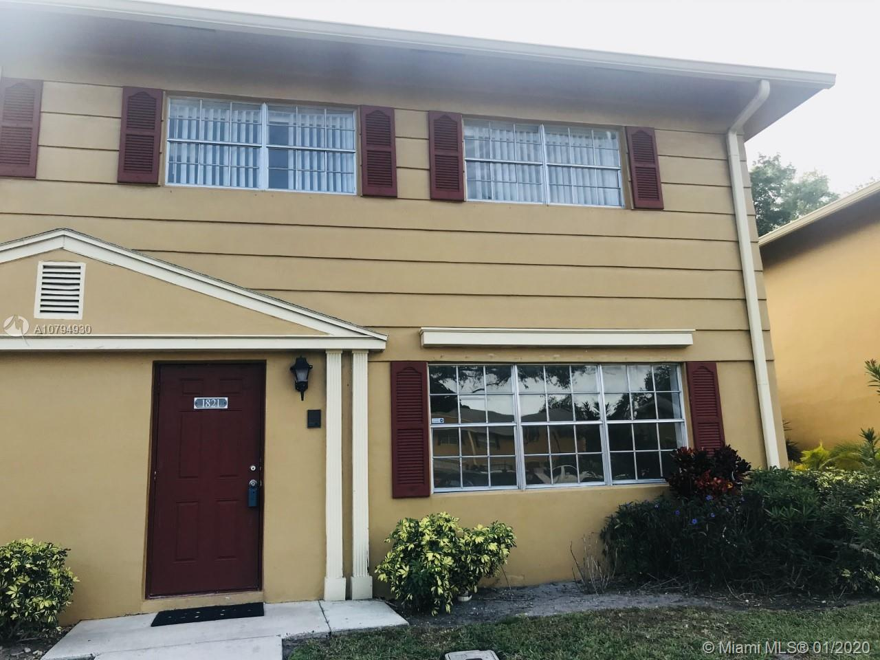 1821 SW 81st Ave #4-14 For Sale A10794930, FL