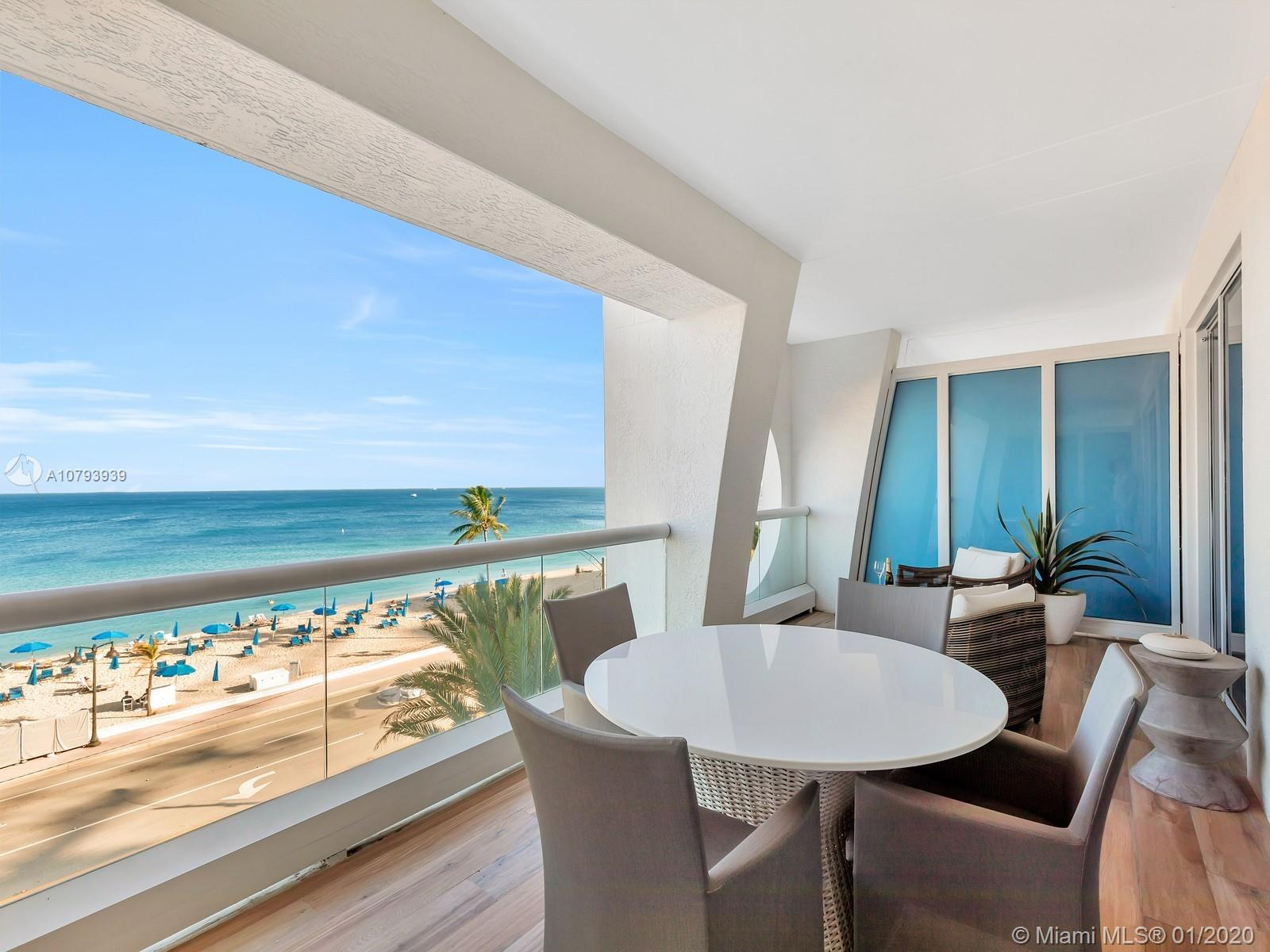 551 N Fort Lauderdale Beach Blvd #R504 For Sale A10793939, FL