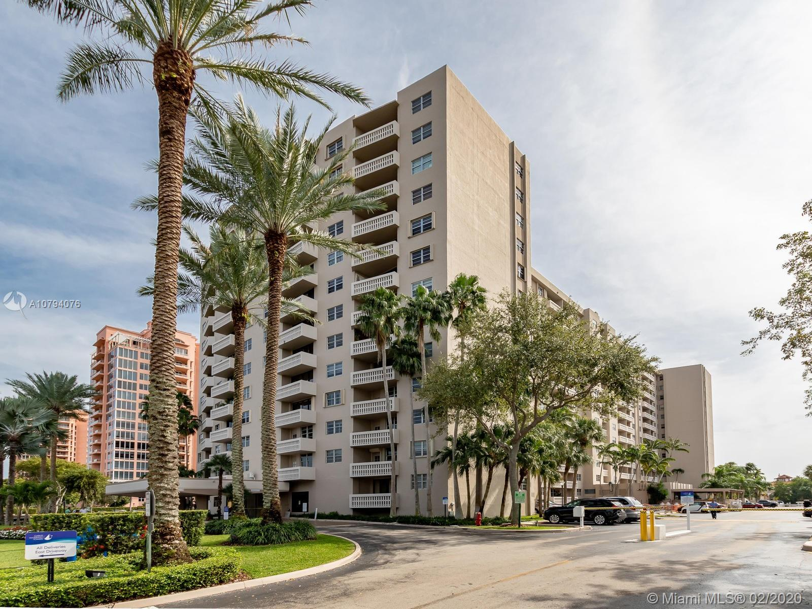 90  Edgewater Dr #508 For Sale A10794076, FL