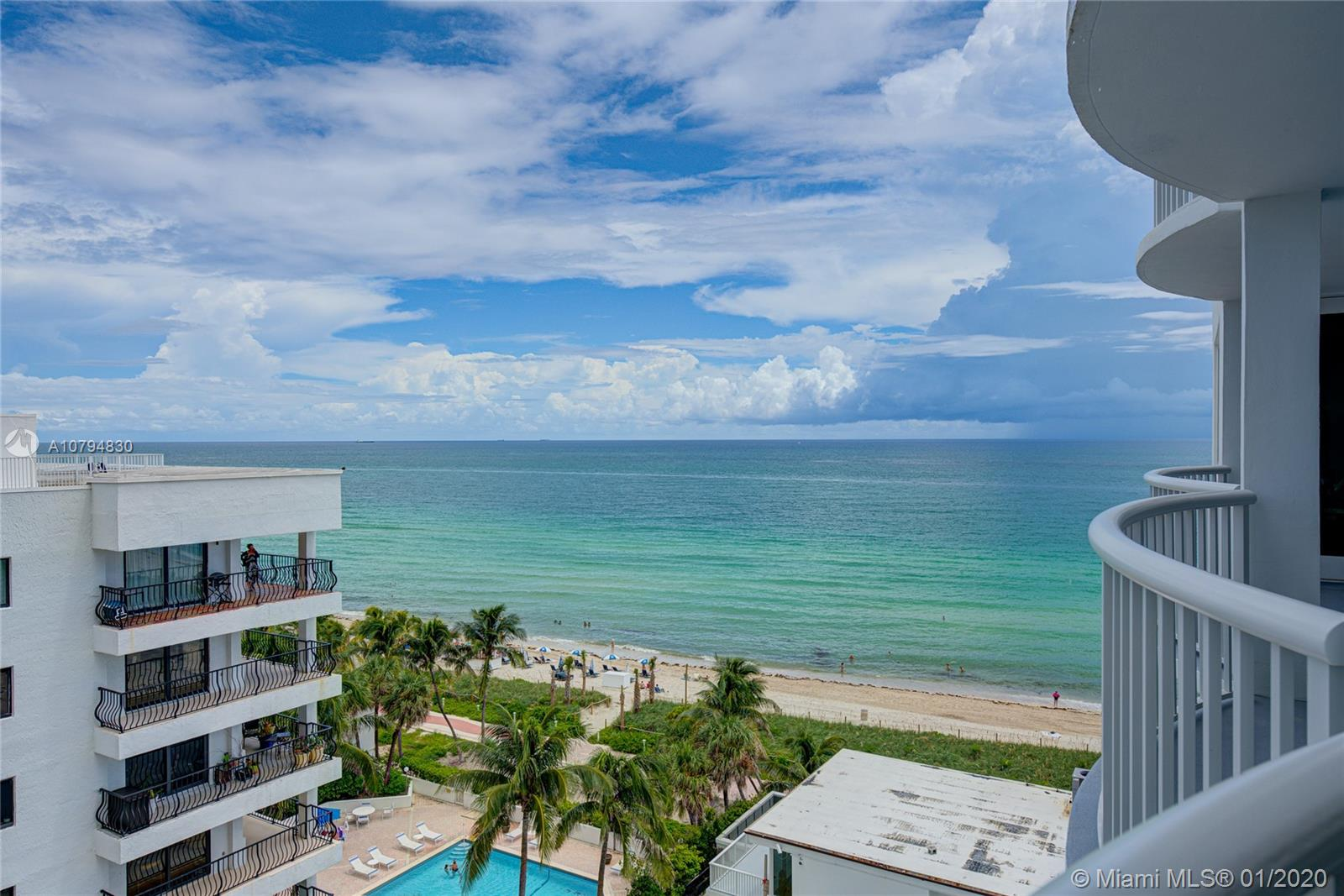 5401  Collins Ave #707 For Sale A10794830, FL