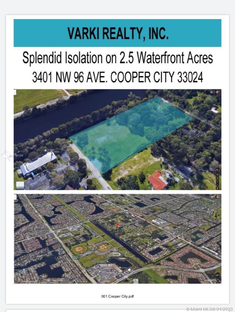 3401 NW 96 Ave. Cooper City, Cooper City, FL 33024