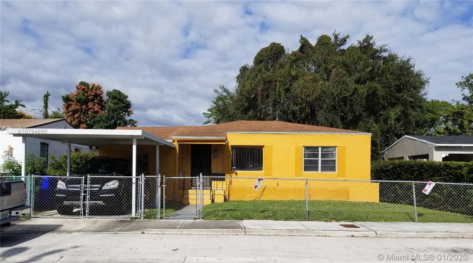 231 NW 44th St  For Sale A10794686, FL