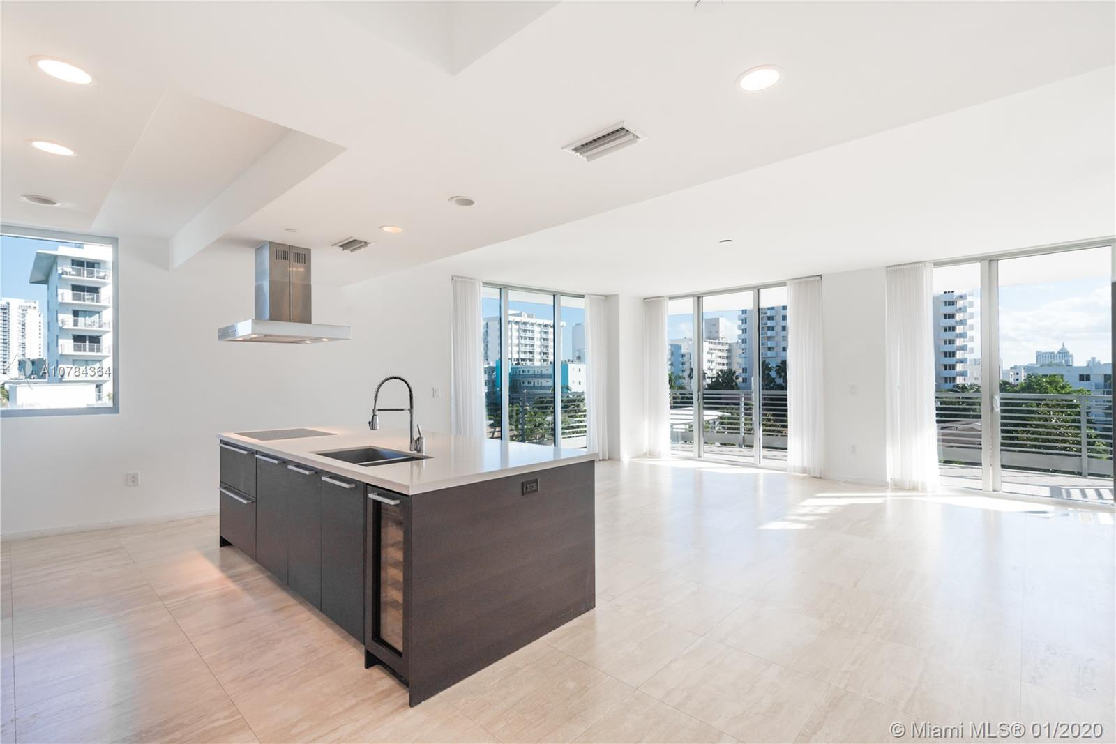 Luxury boutique waterfront living at Capri South Beach.  This NE Corner 2 bedroom & 2.5 bath residence with views of Miami Beach Skyline, floor to ceiling impact windows, Poggenpohl cabinetry in Kitchen and bathrooms; Subzero, Wolf and Miele appliances, custom closet system in Master bedroom, 24 by 24 travertine flooring both inside and on balcony. Capri is steps from Lincoln Road, offers a private marina, fitness center, bayfront pool, jacuzzi, front desk, valet and security. Boat dock available for purchase.  1 Bedroom residence next door also available for purchase, for possible combination.