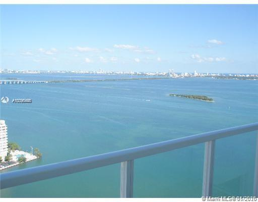 THIS 3 BEDROOM 3 BATH WITH BEAUTIFUL BAY AND MIAMI BEACH VIEWS. MARBLE FLOORS THROUGH OUT THE APARTMENT INCLUDING TERRACE. 2 PARKING SPACES PLUS VALET PARKING. GREAT PARK ACROSS THE STREET WITH JOGGING, BASKETBALL, MOVIE ROOM, CONVENIENCE STORE AND GYM. A GREAT OPPORTUNITY TO LIVE IN ONE OF THE BEST BUILDINGS CLOSE TO PARKS AND THE ART CENTER OF MIAMI UNIT IS ON LOCk-BOX PLEASE ADD SHOWING AGENT NAME  AND PHONE NUMBER, PLUS PROSPECTS  NAMES TWO PERSONS MAX