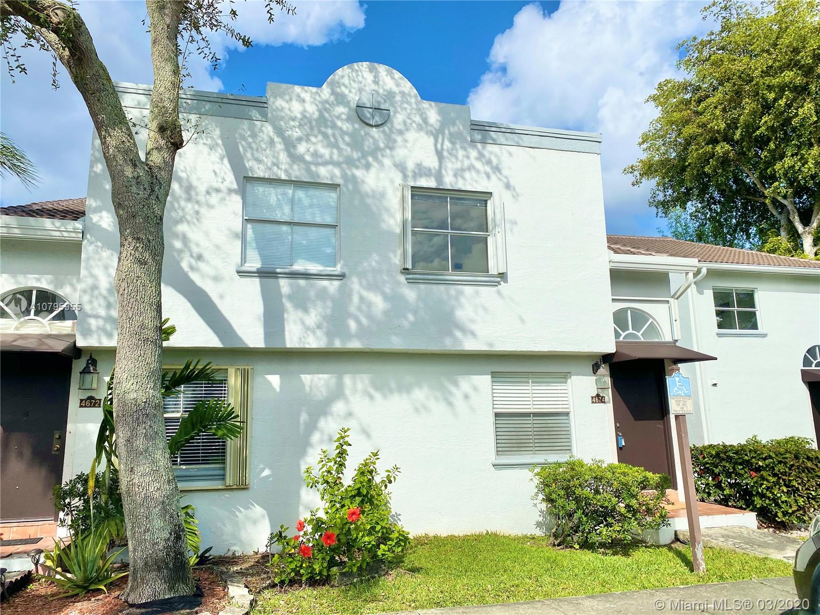 4674 NW 97th Ct #98 For Sale A10795955, FL