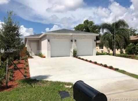 Great new construction 1/2 duplex in an amazing area in Middle River Terrace.  3 bed 2 bath, 1 car garage with large fenced yard. Impact glass windows and doors, porcelain tile flooring throughout.  Includes all stainless steel kitchen appliances and washer/dryer.  No association.  Seller will contribute to closing costs.