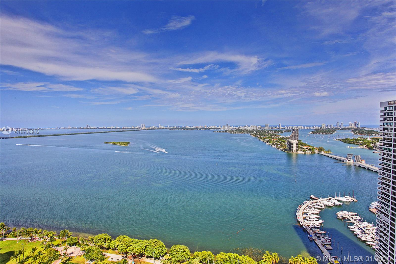 1750 N Bayshore Dr #2001 For Sale A10796912, FL
