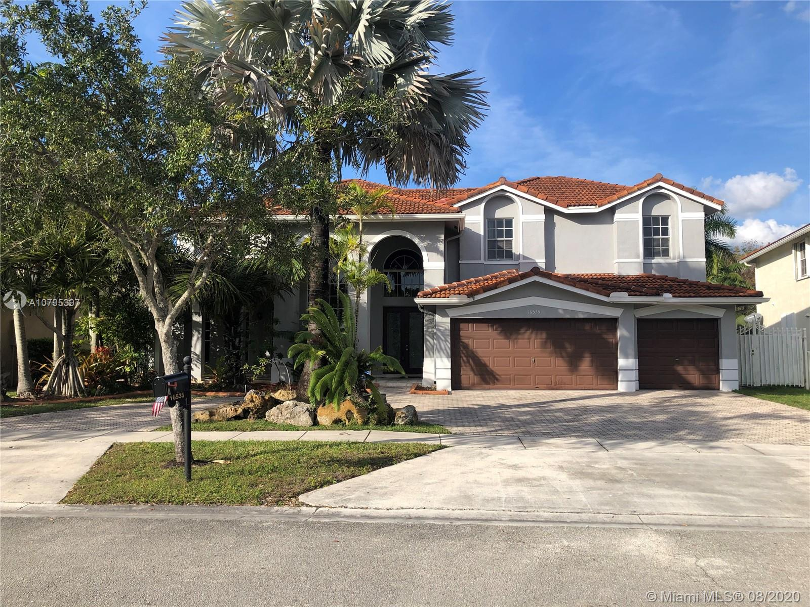 , great backyard waterfront and a pool, overlooking a natural preserve, three car garage, this is one of the nicest floor plans you will find in much sought after Spring Valley Estates, you just can't beat this location