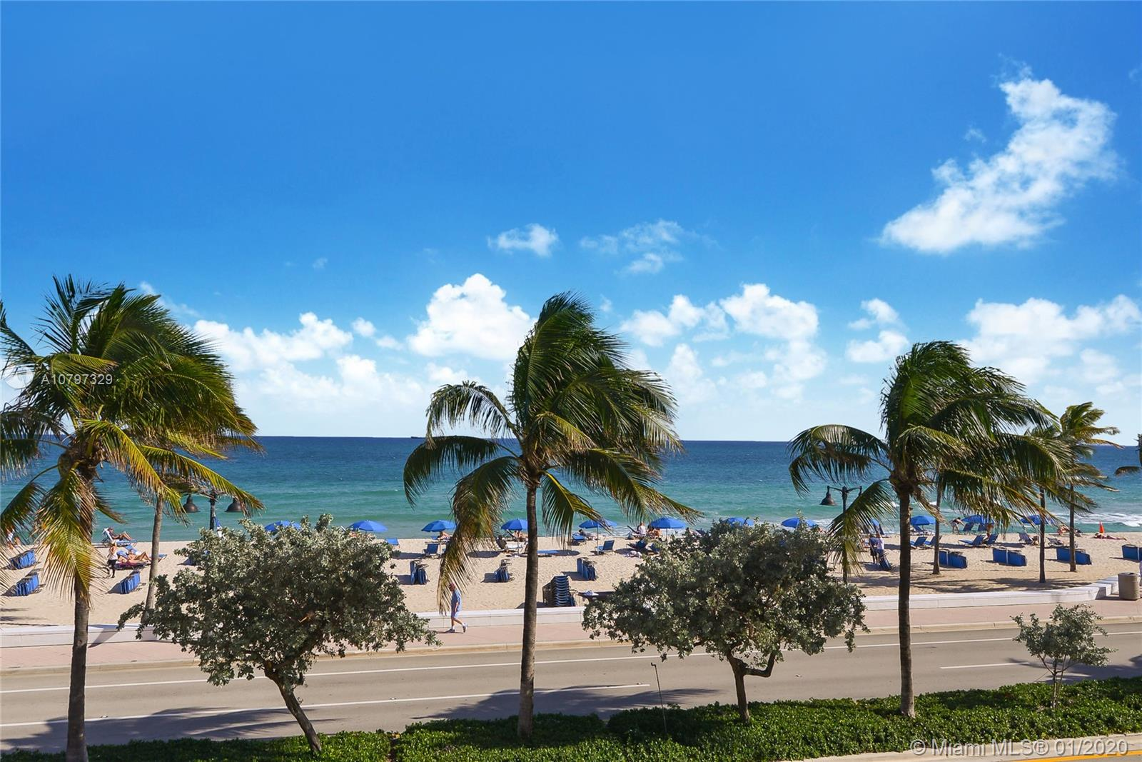 The lifestyle you have been dreaming of is now possible. This luxurious condo is located front row on Fort Lauderdale Beach and boasts 3 bedrooms and 3.5 bathrooms, floor to ceiling walls of glass to take in the pristine ocean views from every room and a circular staircase leading to the private master retreat and luxurious bath on the second floor. The 3 balconies invite you to watch the sunrise every morning, relax and become one with the spectacular surroundings. Five star amenities such as valet parking, gym, spa, pool, restaurants and shopping complete your experience and make the Presidential Suite the perfect second home. Priced at only $353 per sq/ft receive 2 years or free maintenance, use it for up to 120 days and rent it either on your own or through the hotel program.