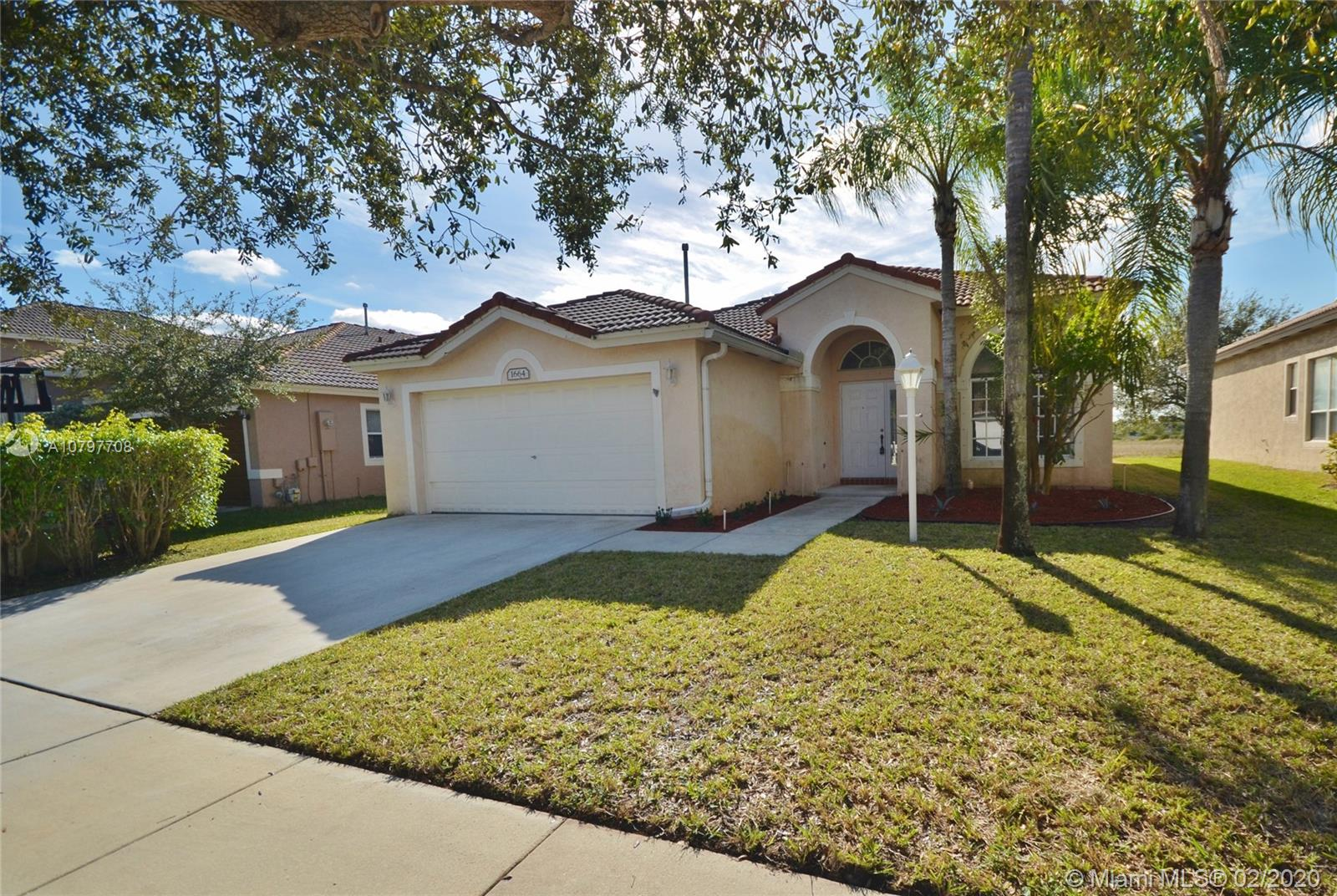 1664 NW 144th Way  For Sale A10797708, FL