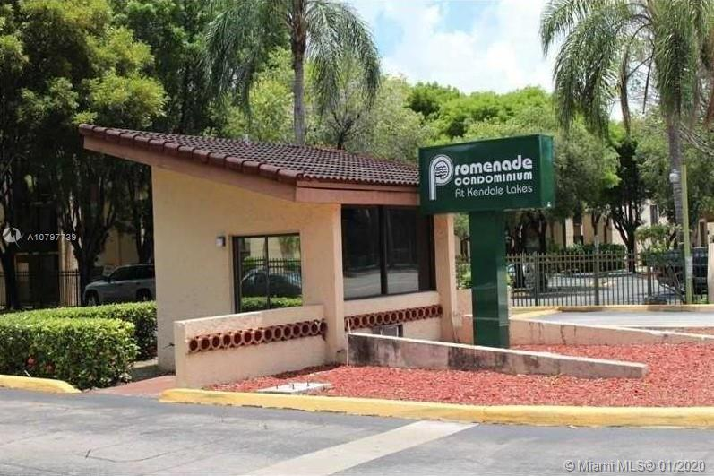 GREAT OPPORTUNITY!! 2 BEDROOMS/2 BATHROOMS APARTMENT IN KENDALL ** IT IS IN THE 2ND FLOOR BUT THE BUILDING HAS ELEVATORS **  BRAND NEW LAMINATE WOOD FLOORS IN BEDROOMS **  WASHER AND DRYER INSIDE THE UNIT ** EASY TO SHOW ** SEE BROKER'S REMARK **
