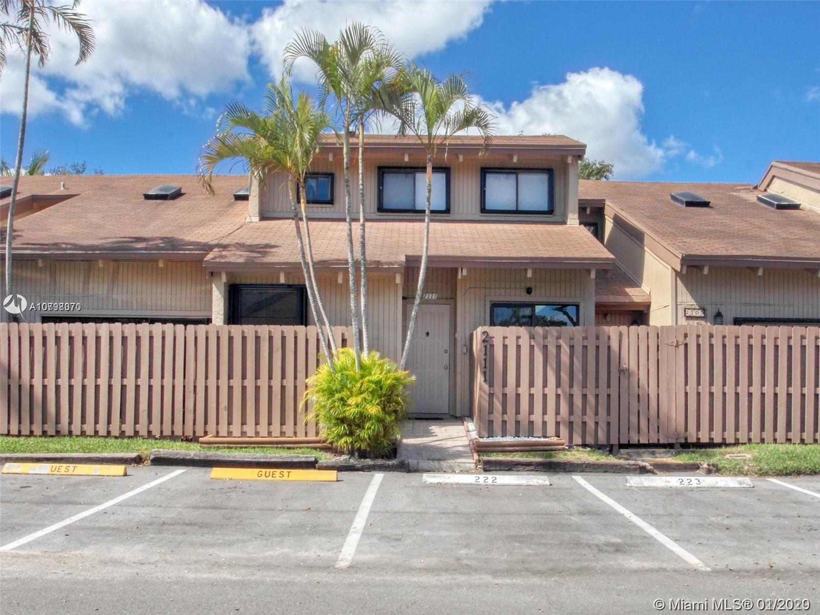 2105 SW 82nd Ave #2105 For Sale A10798070, FL