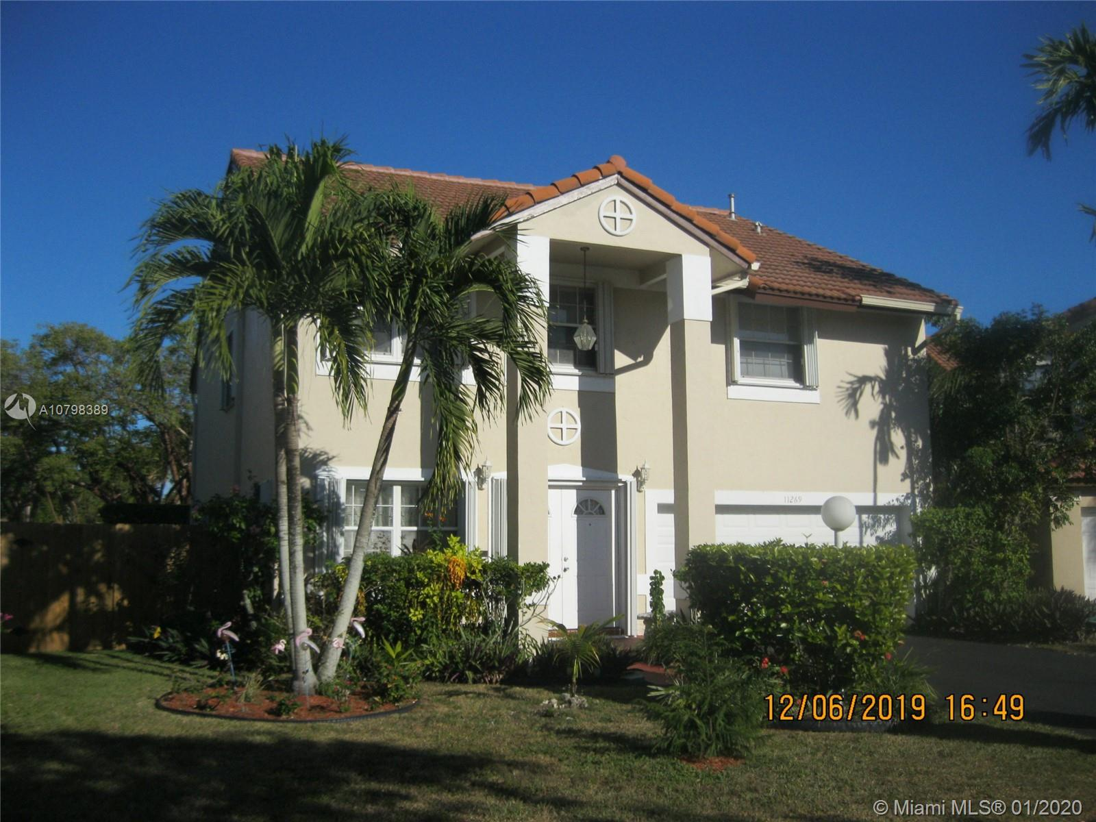 11269 SW 149th Pl  For Sale A10798389, FL