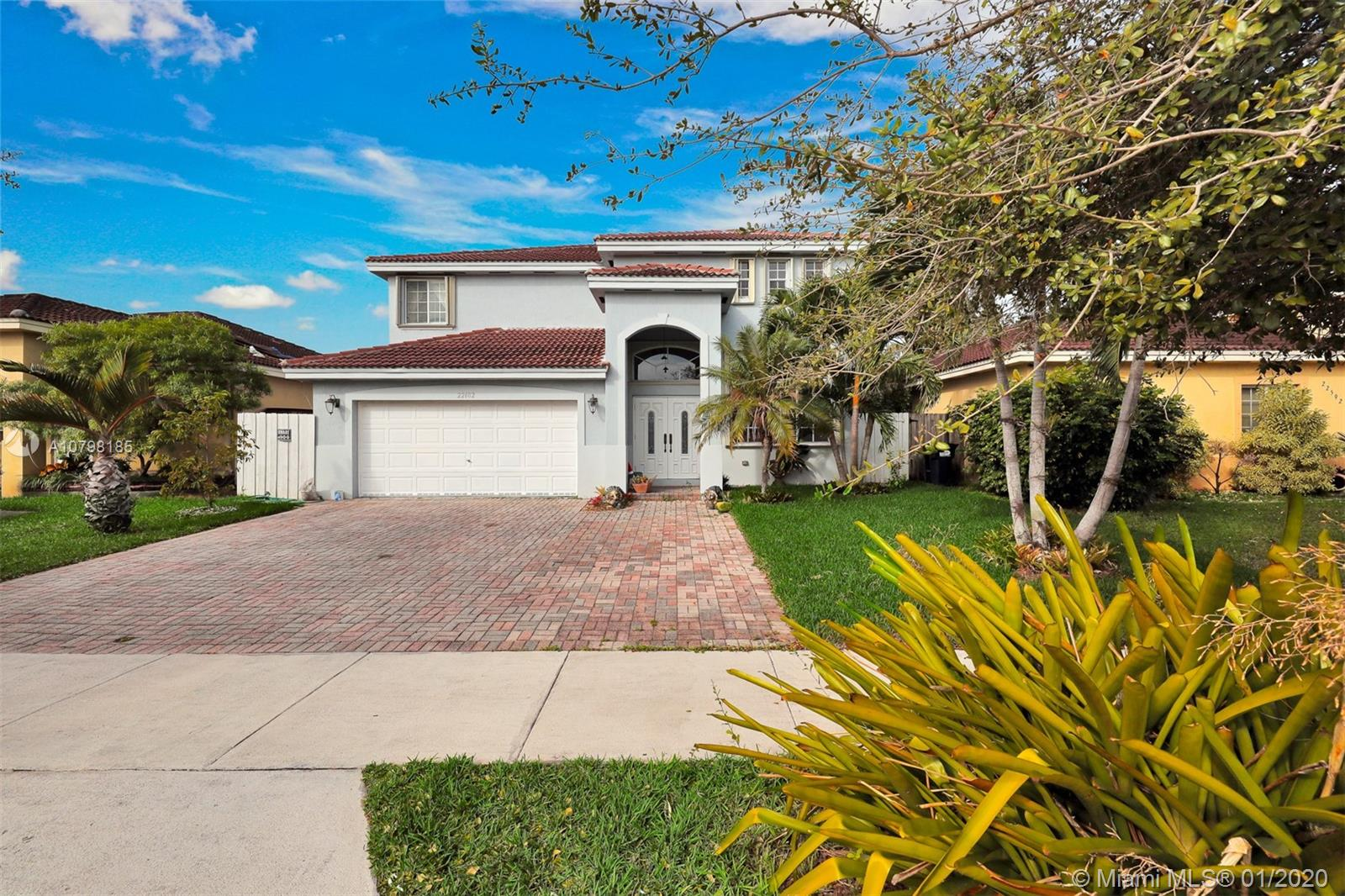 22602 SW 103rd Ct  For Sale A10798185, FL