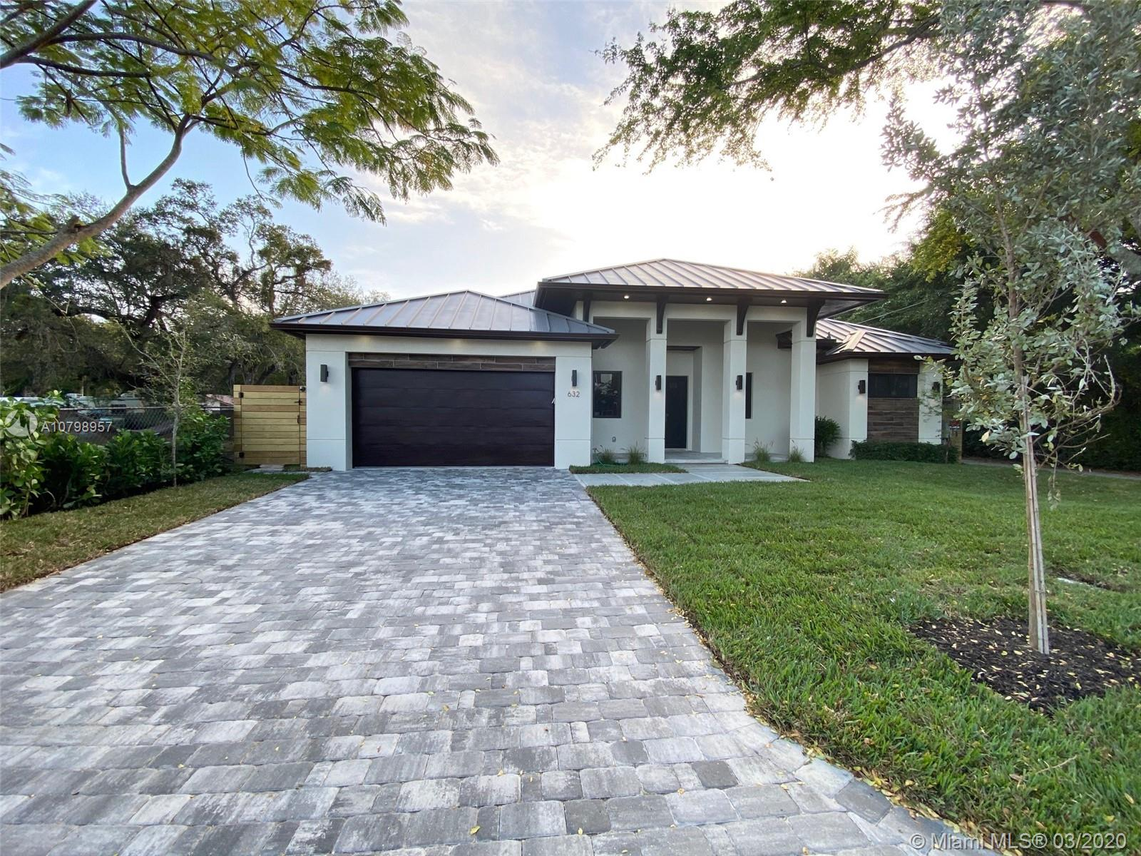 Brand New Construction! This magnificent modern custom home is located on a corner lot of Riverside Park. Minutes to Las Olas, Downtown Fort Lauderdale, the airport and I-95. With almost 2,500 sq/ft under air and total sq/ft of 3,507, this home consists of 4 bedrooms 3.5 baths, oversized 2-car garage and huge covered patio overlooking the pool & spa. Home is completely fenced in, has high ceilings of 11ft, 24 gauge metal roof,  and tons of natural light. The open concept of the living room, dining room, and kitchen make this home great for entertaining and family gatherings. The custom-built kitchen has quartz countertops, LG Smart WiFi enable appliances, oversized kitchen island and walk-in pantry. Great home & great location! To be completed in February 2020.