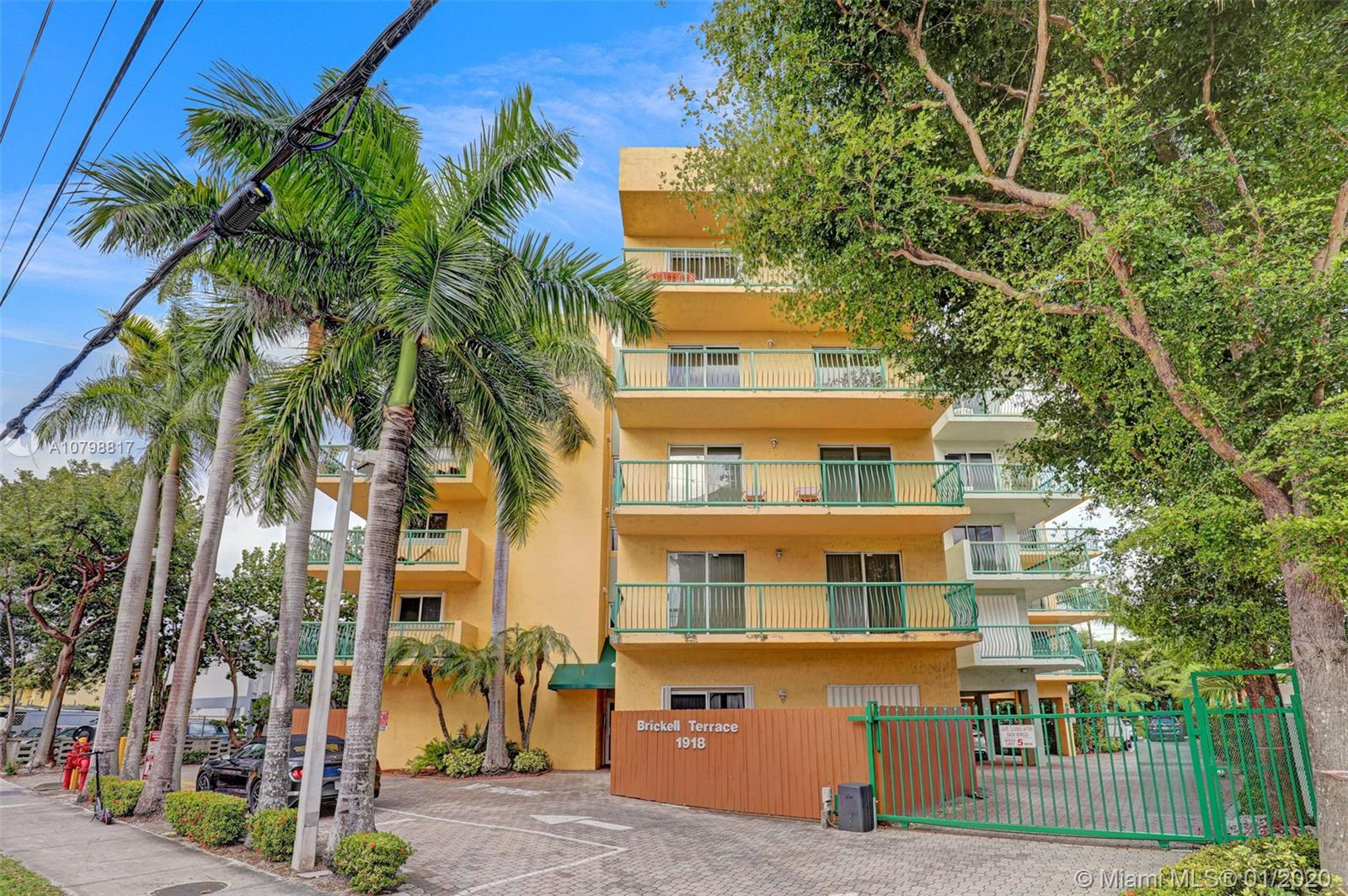 1918  Brickell Ave #204 For Sale A10798817, FL