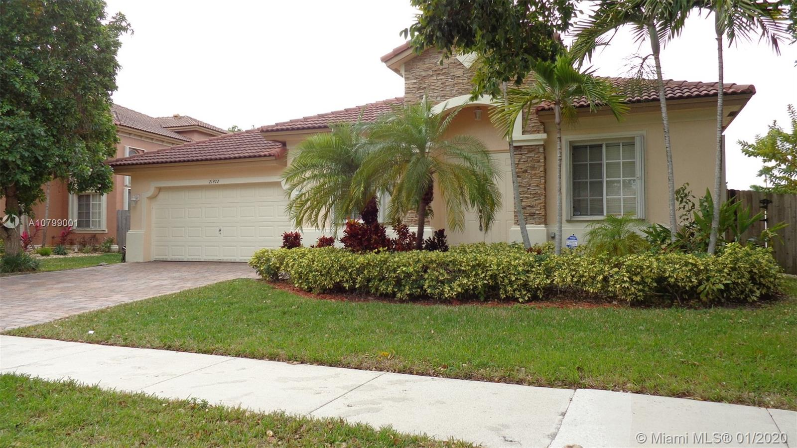 21972 SW 95th Pl  For Sale A10799001, FL