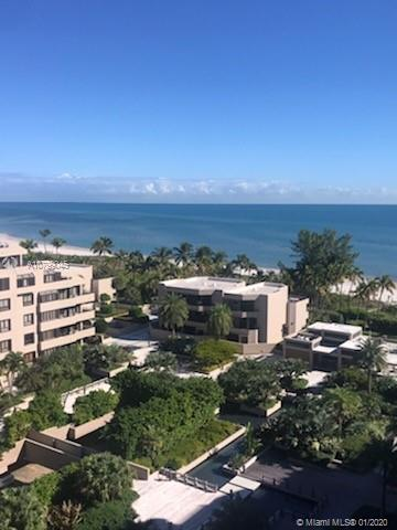 Enjoy this Key Colony Tidemark high floor apartment with incredible views of the Ocean and Biscayne Bay. This oversized unit is spacious and bright with an excellent floor plan. Key Colony amenities include: Pools, Beach Access, 12 Tennis Courts, ocean side Cafe, Exercise Room, Etc.