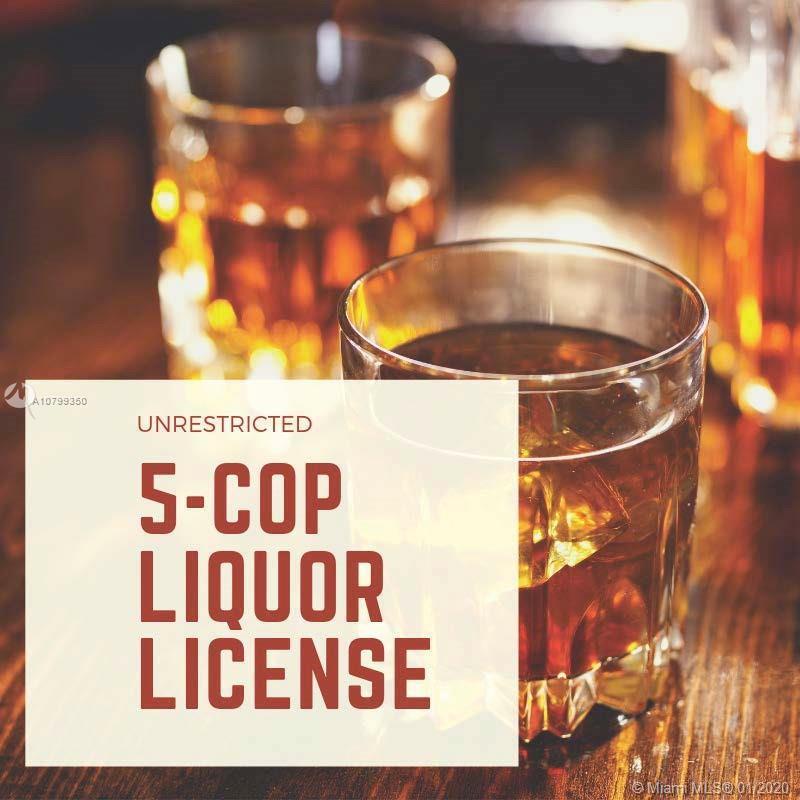 5COP Liquor License, Key West, FL 33040