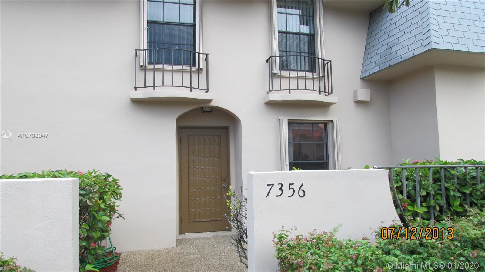 7356 SW 26th Ct #57 For Sale A10798947, FL