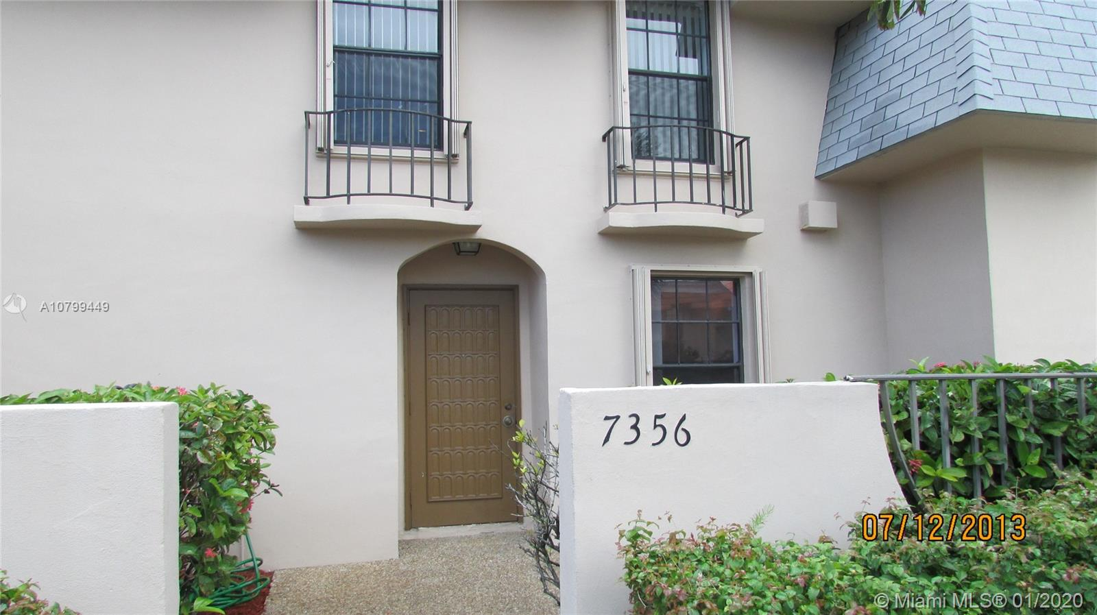 7356 SW 26th Ct #57 For Sale A10799449, FL