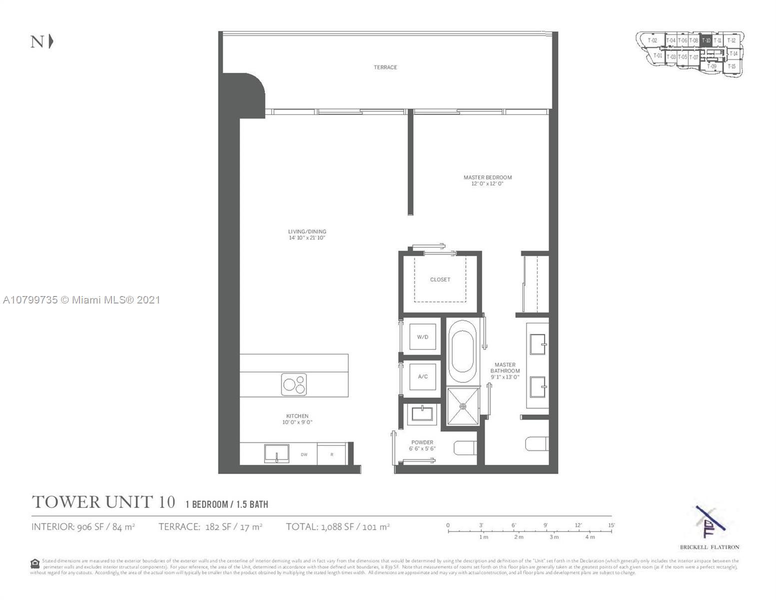 1000  Brickell Plaza #2210 For Sale A10799735, FL