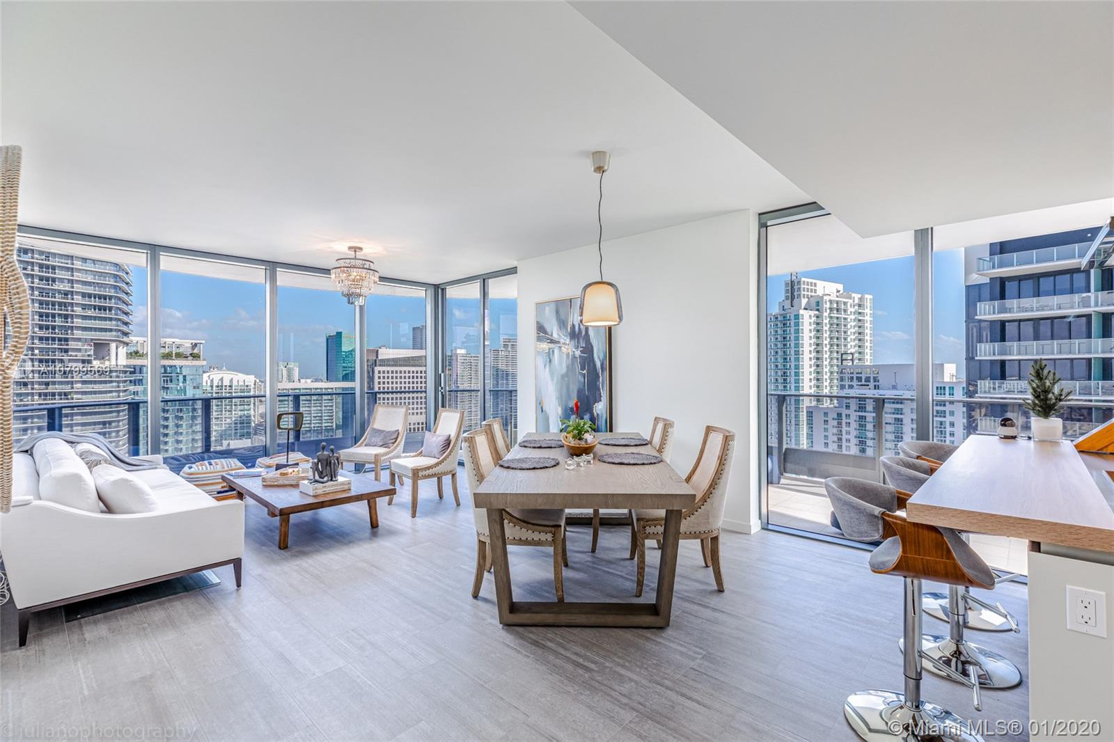 1000  Brickell Plaza #4615 For Sale A10799569, FL