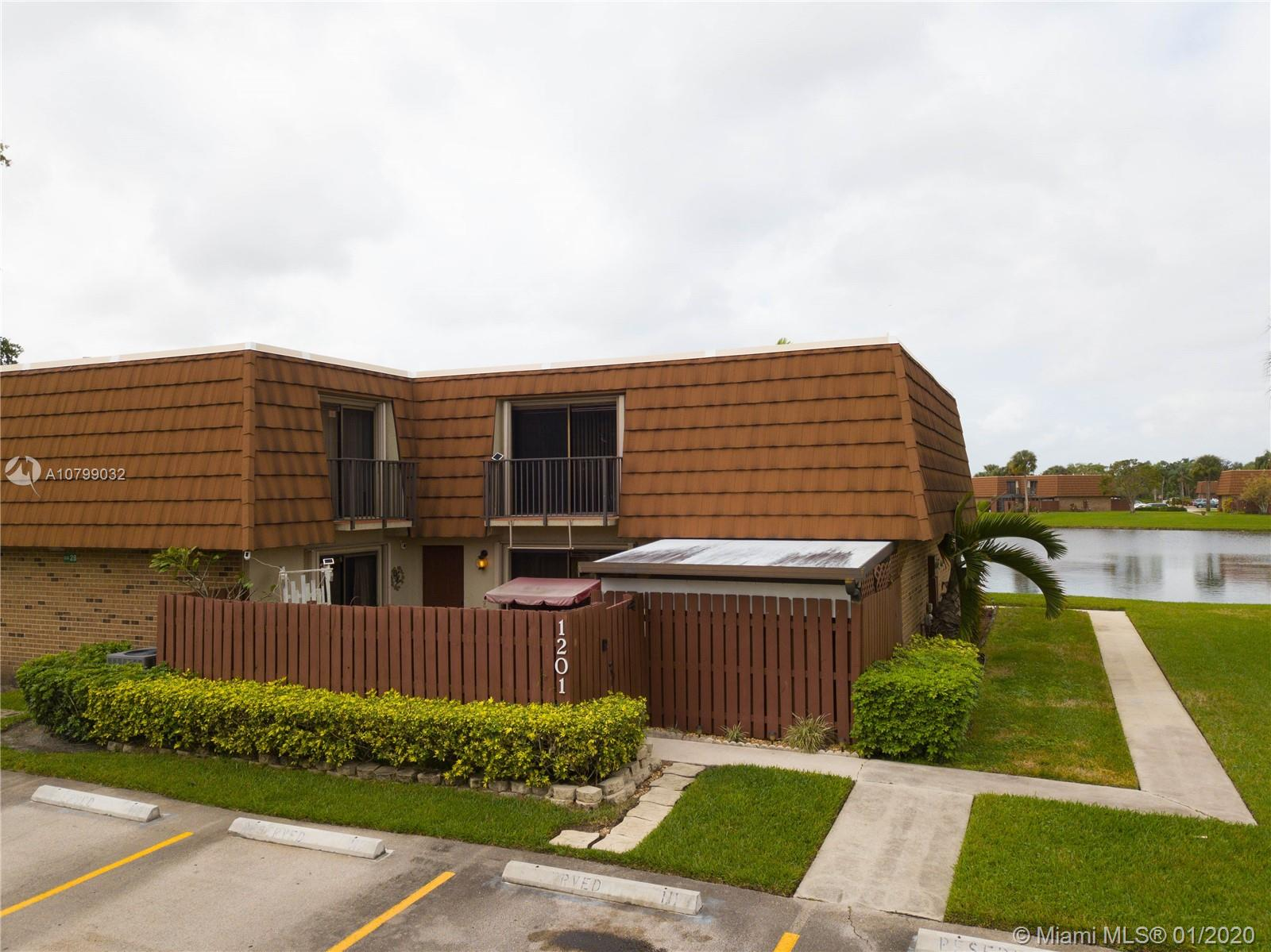 1201 SW 118th Ter #1201 For Sale A10799032, FL