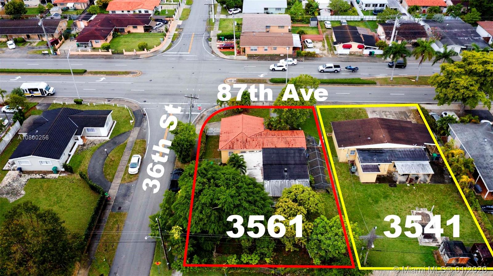 3561 SW 87th Ave  For Sale A10800256, FL