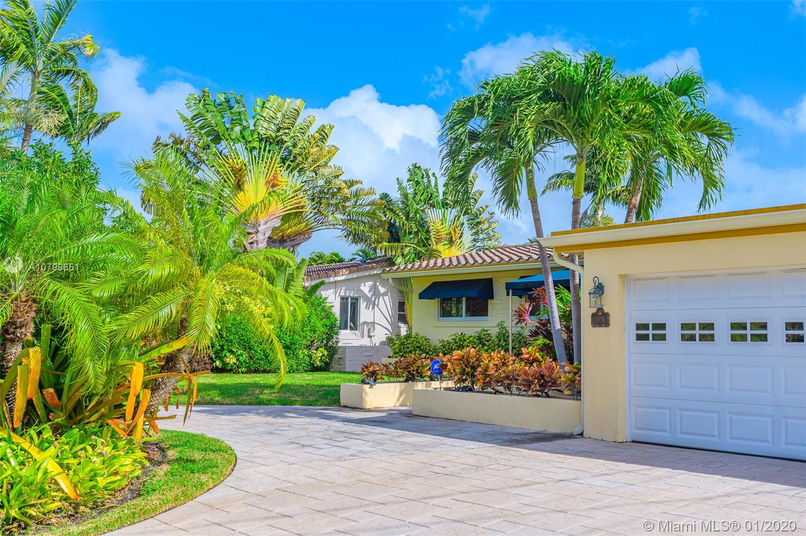 A Unique Waterfront Stunner in Wilton Manors. A vision of unobstructed water views from your Living Room and Master Bedroom. Live the outdoor lifestyle while enjoying the Glorious LED lit Pool, 70ft of Waterfront with Dock and Ocean Access. Impact Windows and Doors with Newer Roof, AC and Tankless Water Heater. This 3 bedrooms, 2 bathrooms home with 2 car garage is a dream come true. Entertaining could not be set in a more exquisite private setting.  All the buzz of Wilton Manors close to your doorstep.