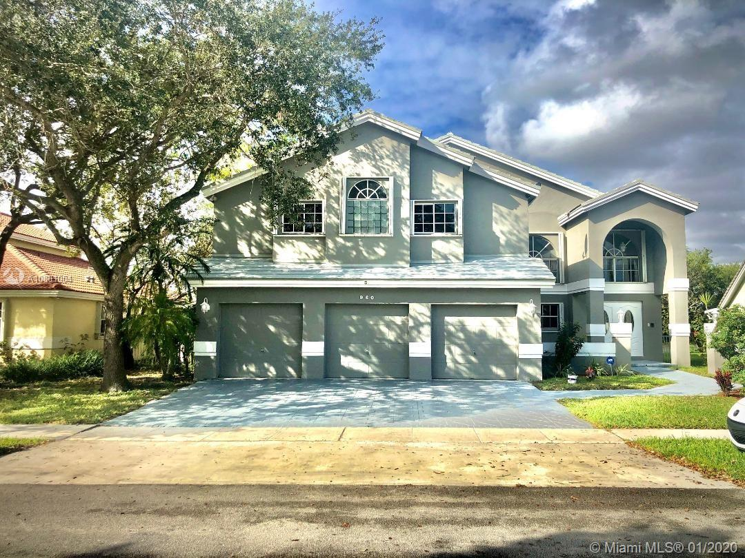 960 NW 203rd Ave  For Sale A10801004, FL