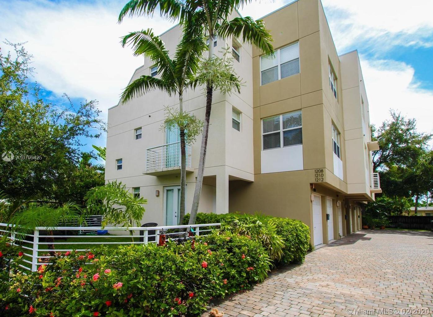 1208 NE 11th Ave #1208 For Sale A10799425, FL